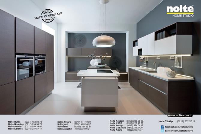 Nolte ankastre mutfak bast home dekorasyon dergisi - Nolte home studio ...